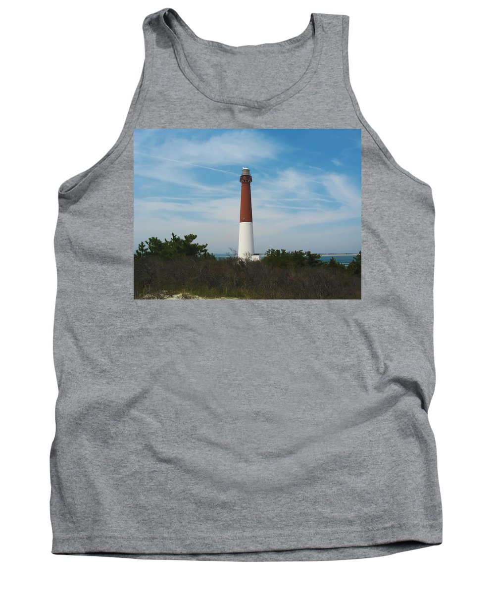 Barnegat Tank Top featuring the photograph Barnegat Lighthouse - New Jersey by Bill Cannon