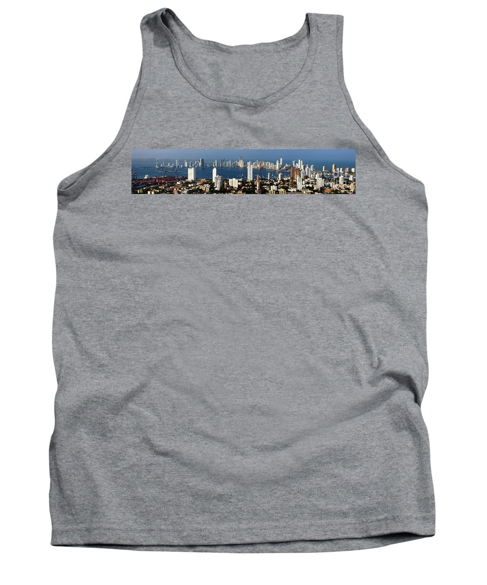 Cartwegena Tank Top featuring the photograph Cartegena Colombia by Thomas Marchessault