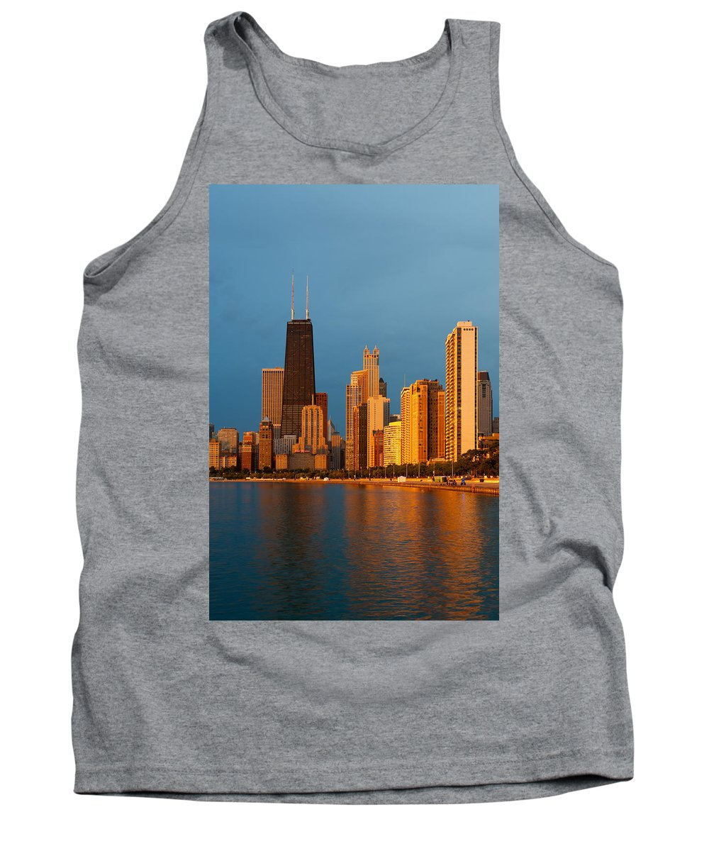 Chicago Tank Top featuring the photograph Chicago Skyline by Sebastian Musial