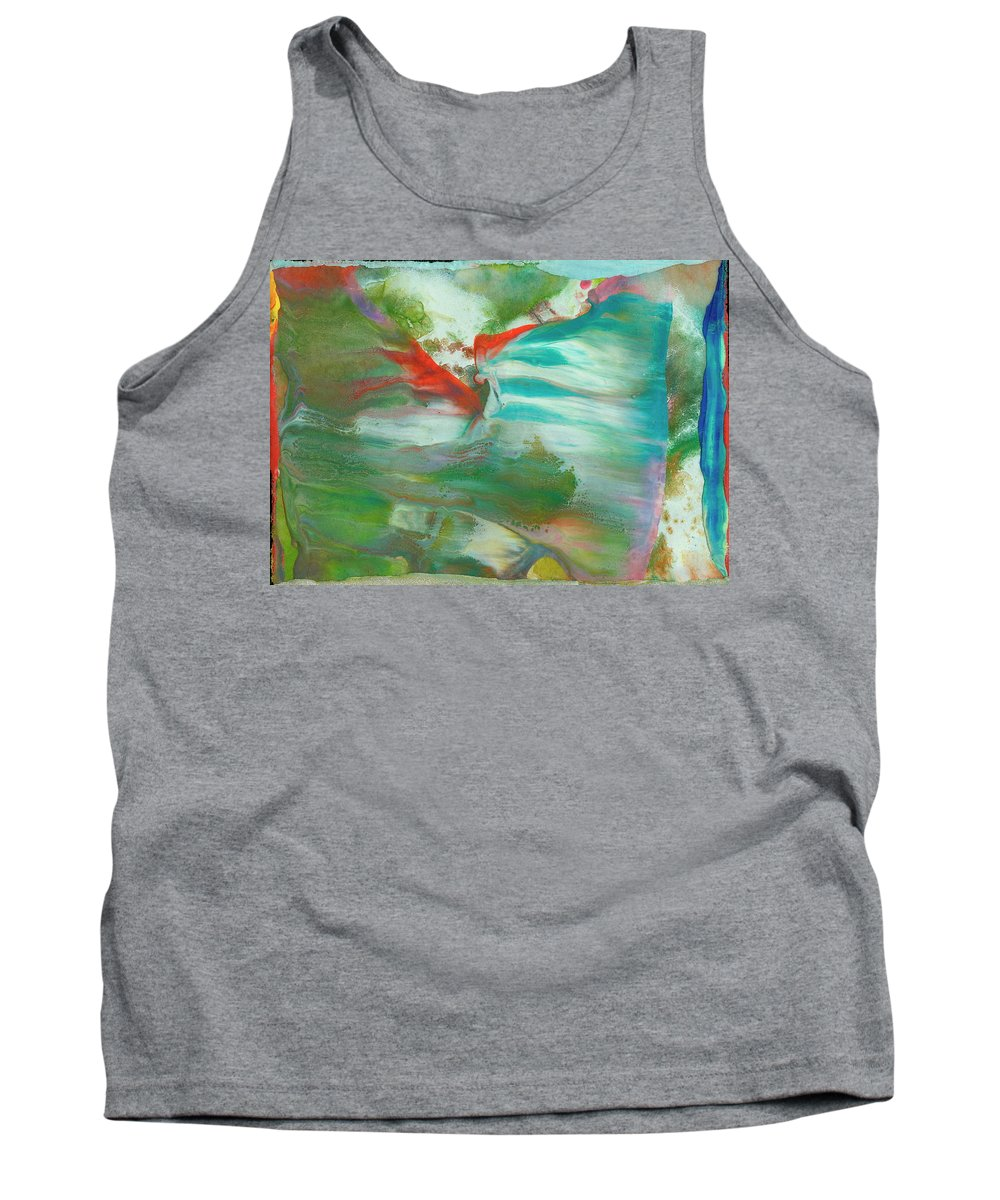 Tank Top featuring the painting Fire Breathing Fox by Sperry Andrews