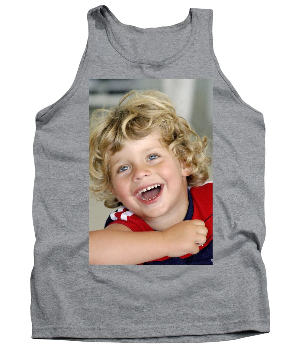 Happy Contest Tank Top featuring the photograph Happy Contest 9 by Jill Reger