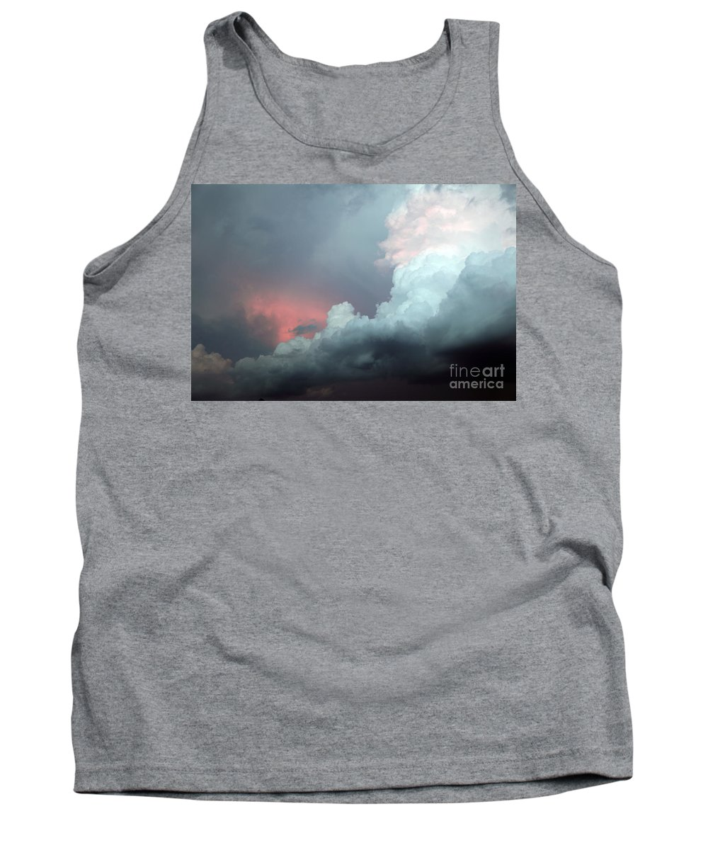 Clouds Tank Top featuring the photograph Hello by Amanda Barcon