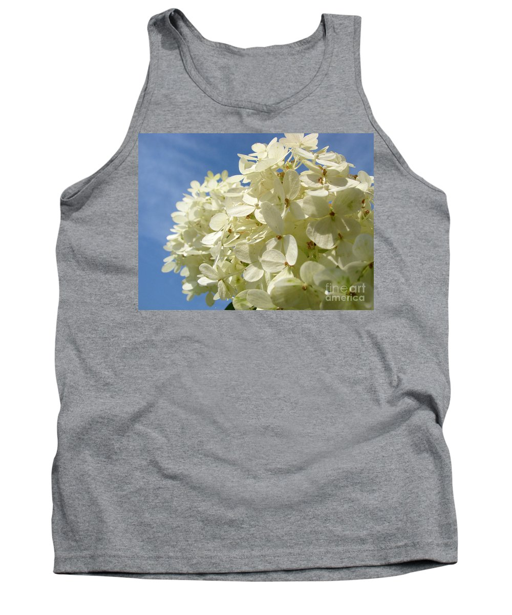 Hydranga Tank Top featuring the photograph Hydrangea by Amanda Barcon
