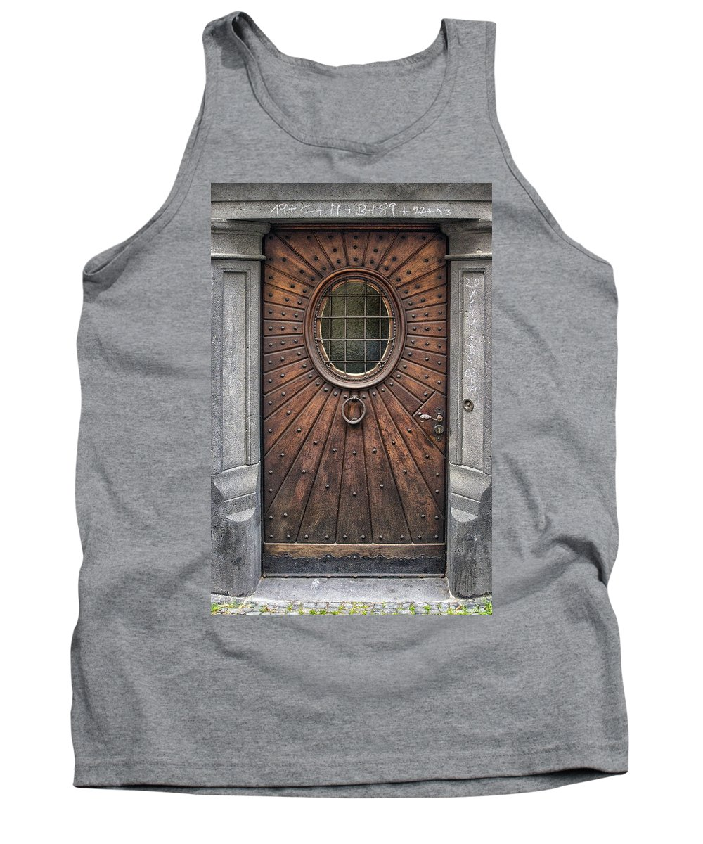 Germany Tank Top featuring the photograph Knock Knock by Robert Fawcett