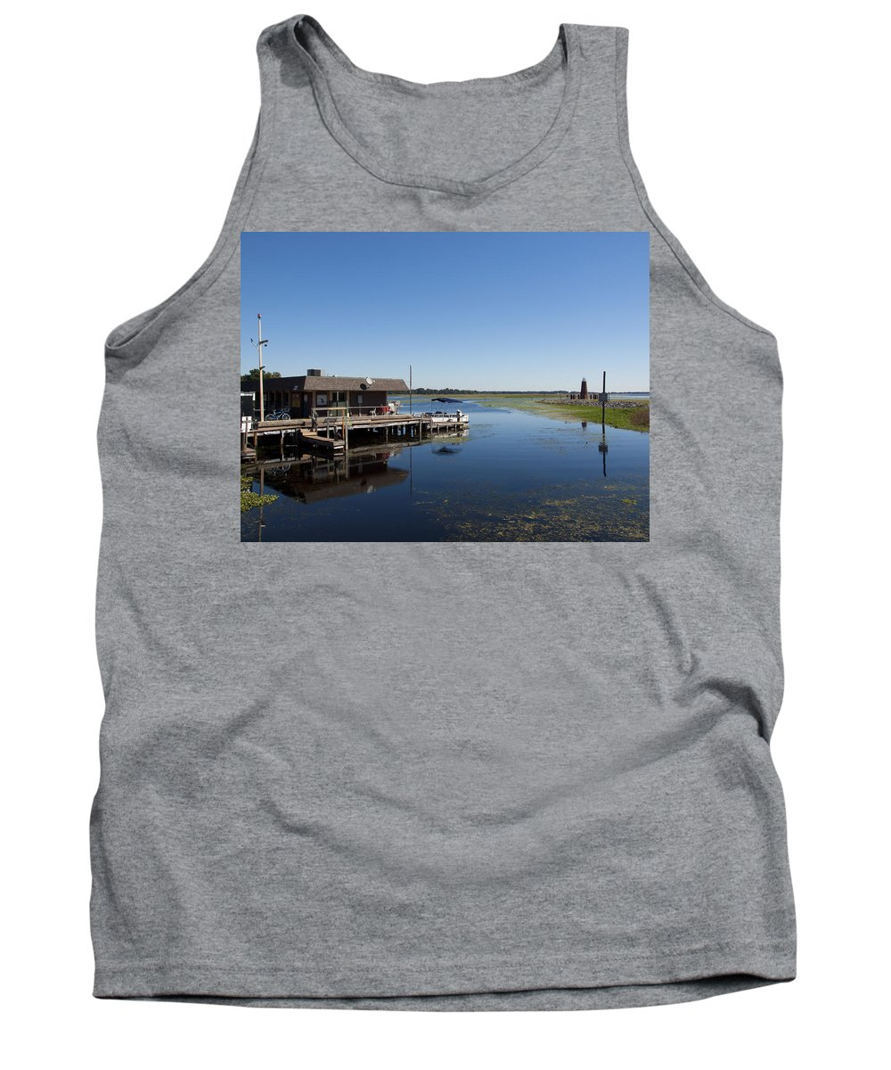 Lake Tank Top featuring the photograph Lake Toho At Kissimmee In Florida by Allan Hughes