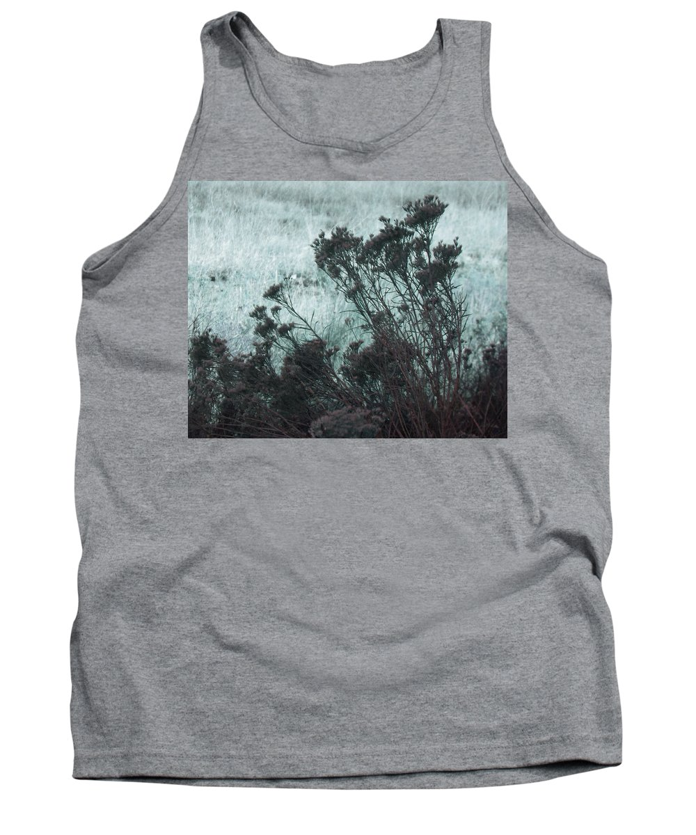 Abstract Tank Top featuring the digital art Light And Shadow by Lenore Senior