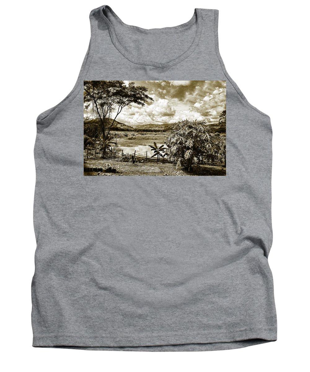Tank Top featuring the photograph Llanos Venezolanos by Galeria Trompiz