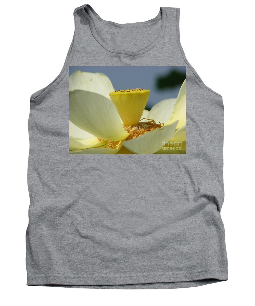 Lotus Tank Top featuring the photograph Lotus by Amanda Barcon