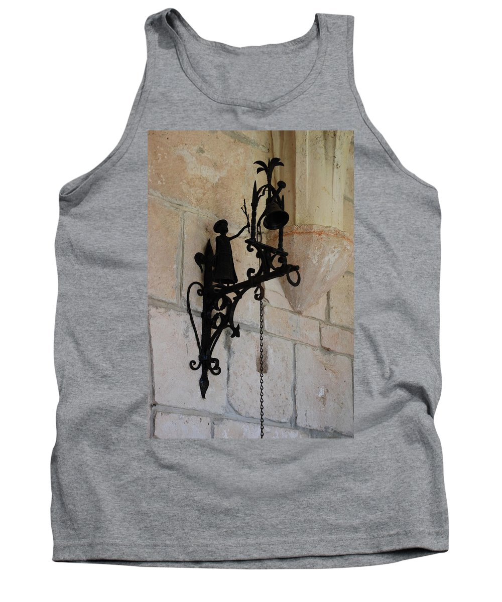 Architecture Tank Top featuring the photograph Miami Monastery Bell by Rob Hans