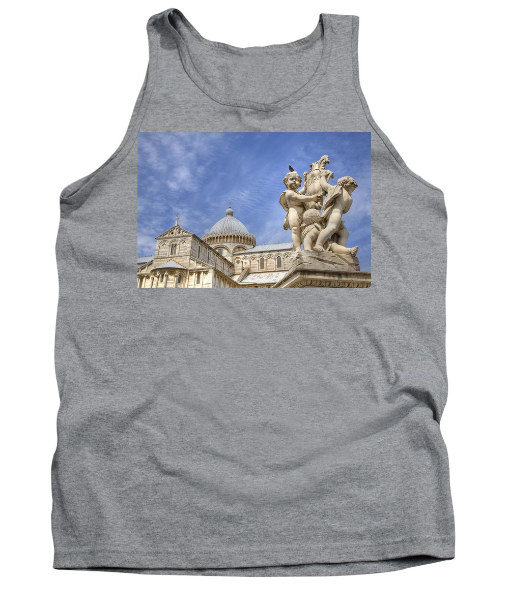Famous Tank Top featuring the photograph Pisa by Ian Middleton