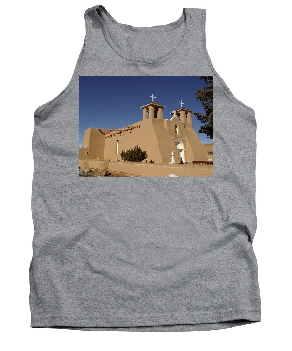Church Tank Top featuring the photograph San Francisco De Asis Mission Church by Carol Milisen