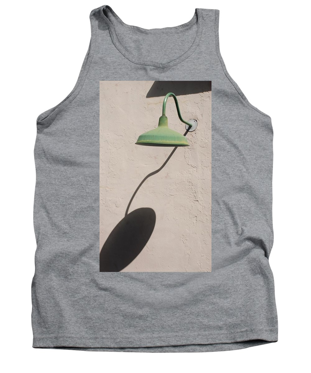 Art Tank Top featuring the photograph Shadow Lamp by Rob Hans