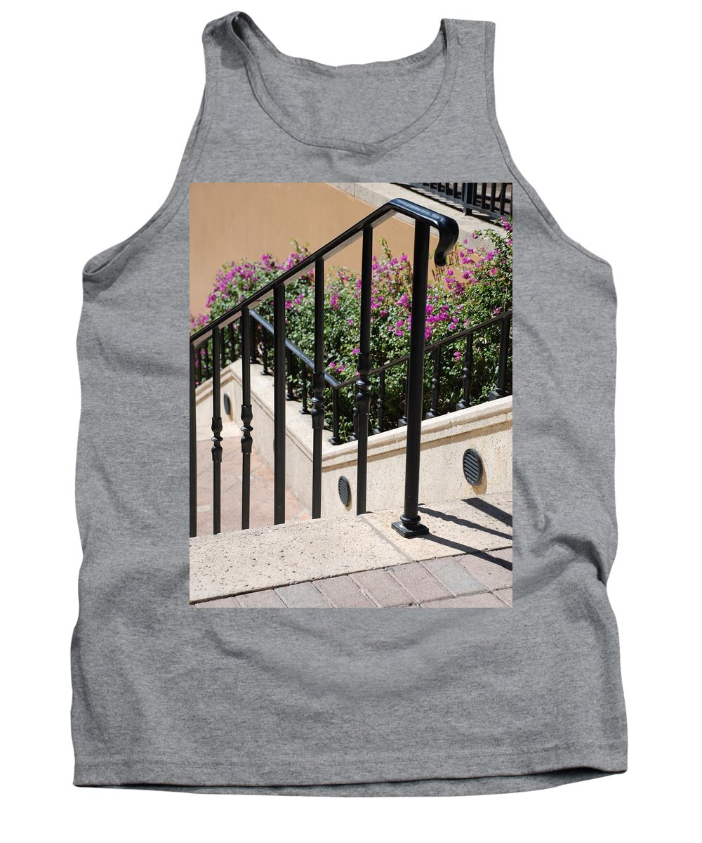 Stairs Tank Top featuring the photograph Stairs And Rails by Rob Hans