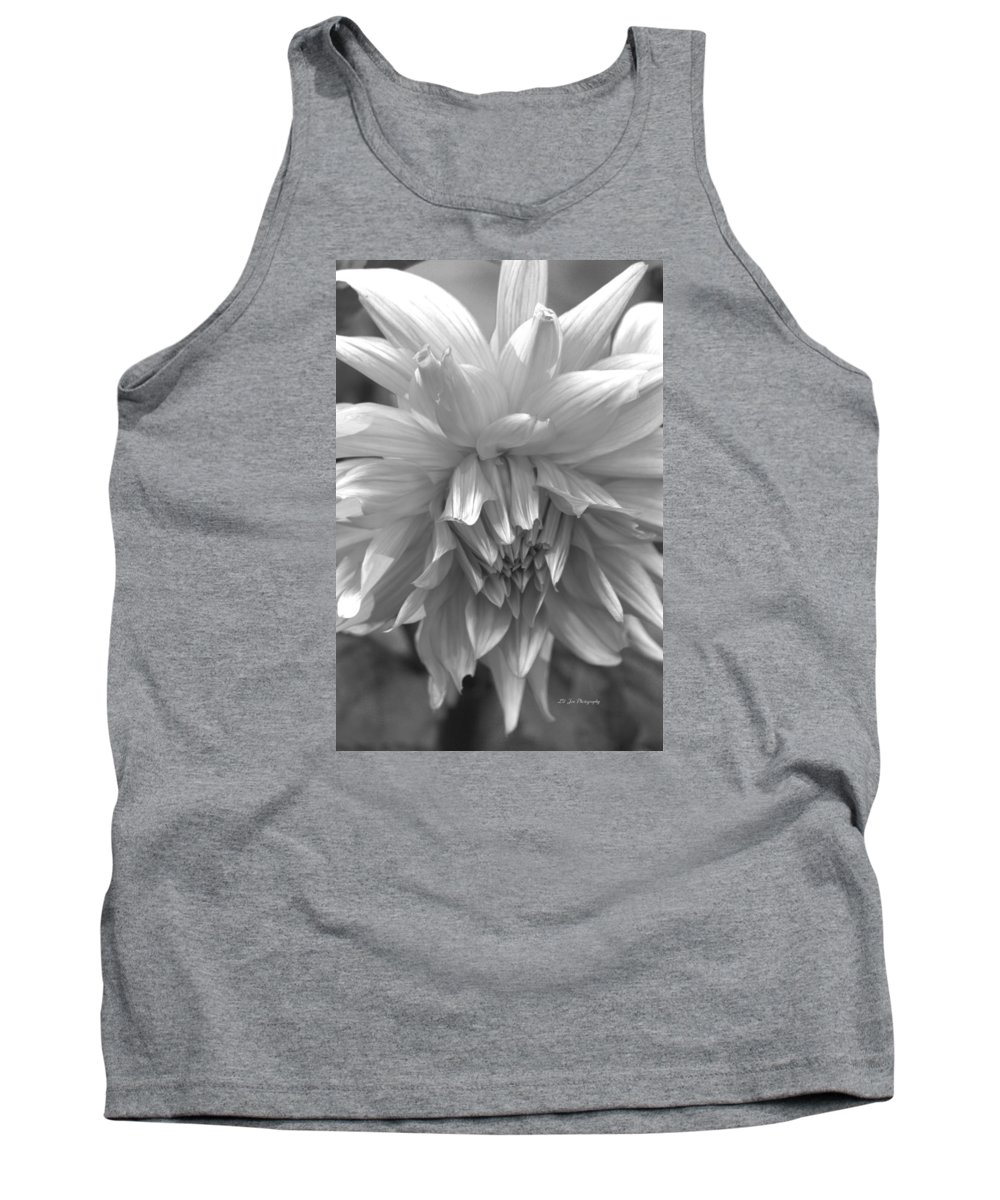 Dahlia In Black And White Tank Top featuring the photograph Tender Moment by Jeanette C Landstrom