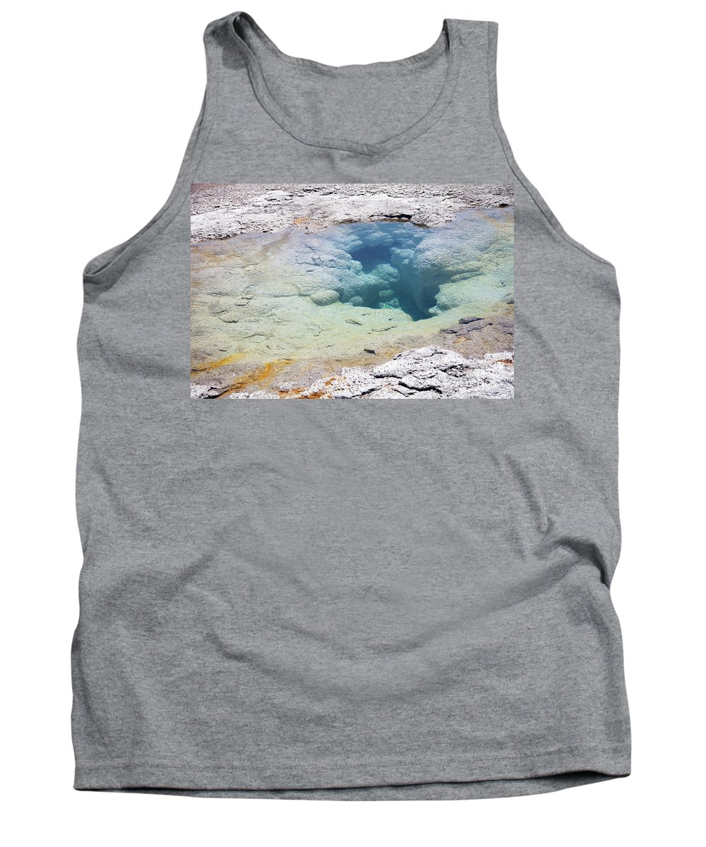Yellowstone Tank Top featuring the photograph Yellowstone National Park by Kati Finell