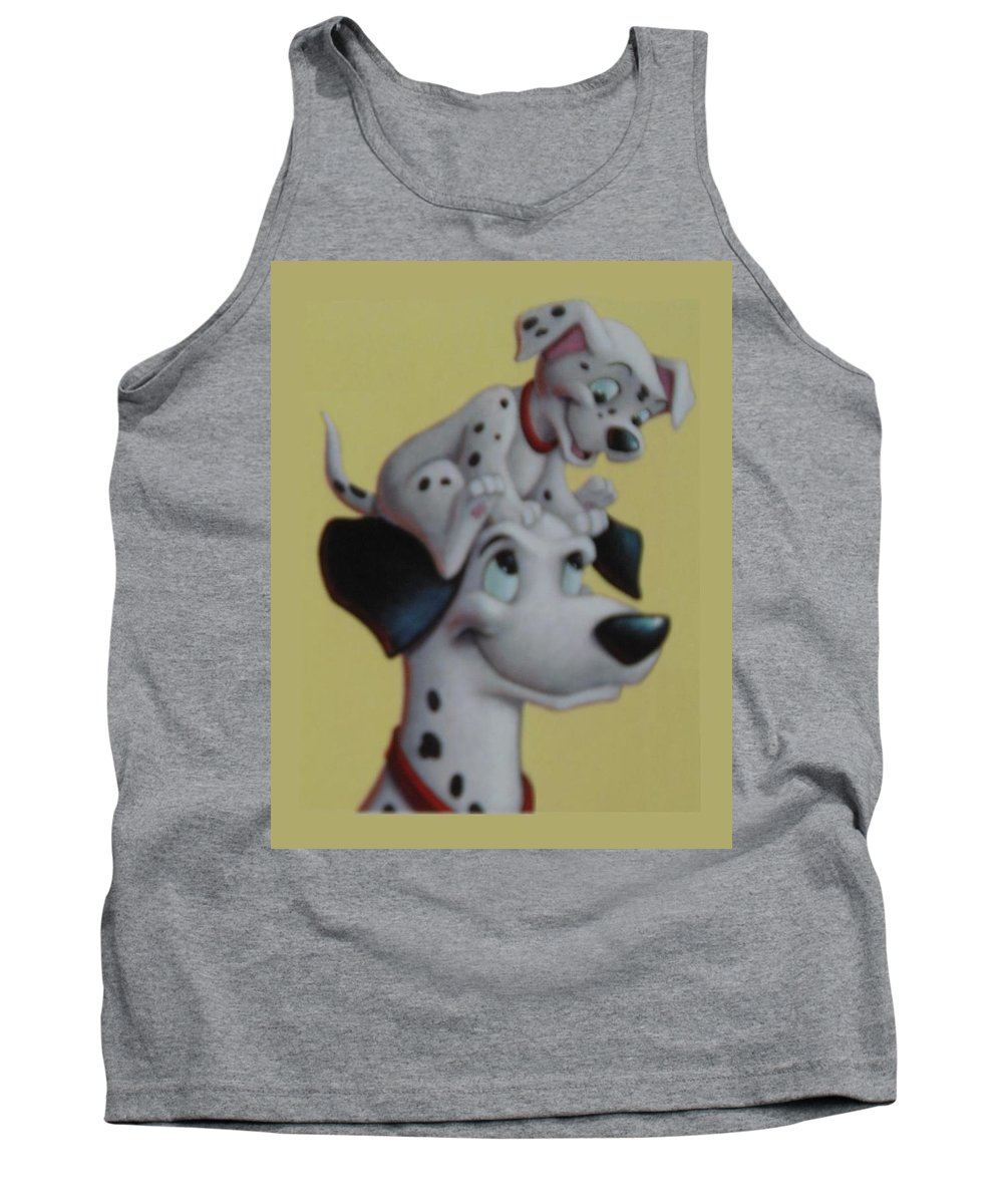 Disney Tank Top featuring the photograph 101 by Rob Hans