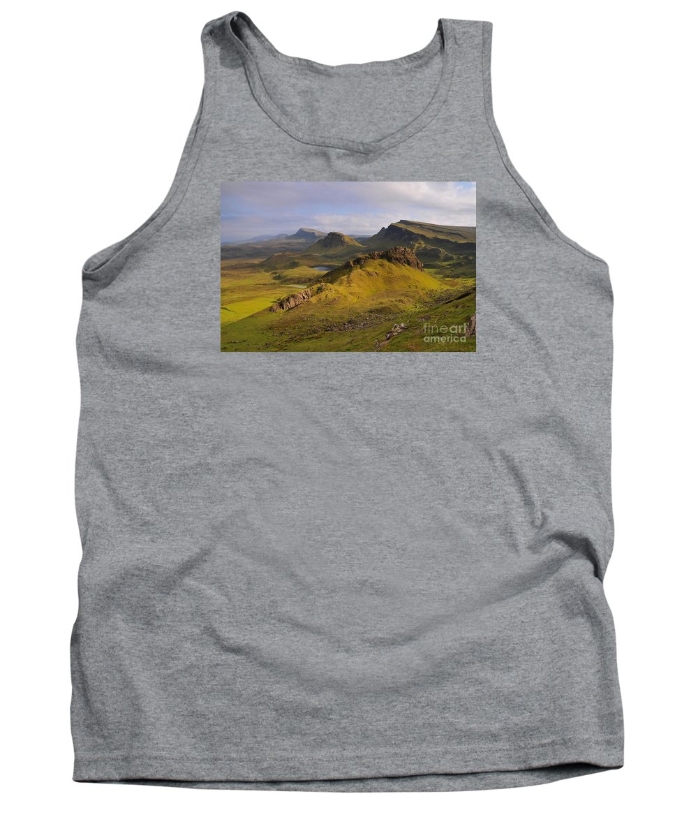 Quiraing Skye Tank Top featuring the photograph The Quiraing by Smart Aviation