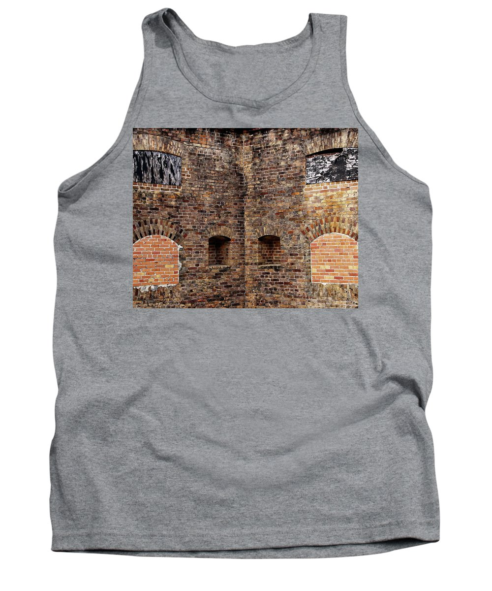 Pensacola Tank Top featuring the photograph Advanced Redoubt by Anthony Dezenzio