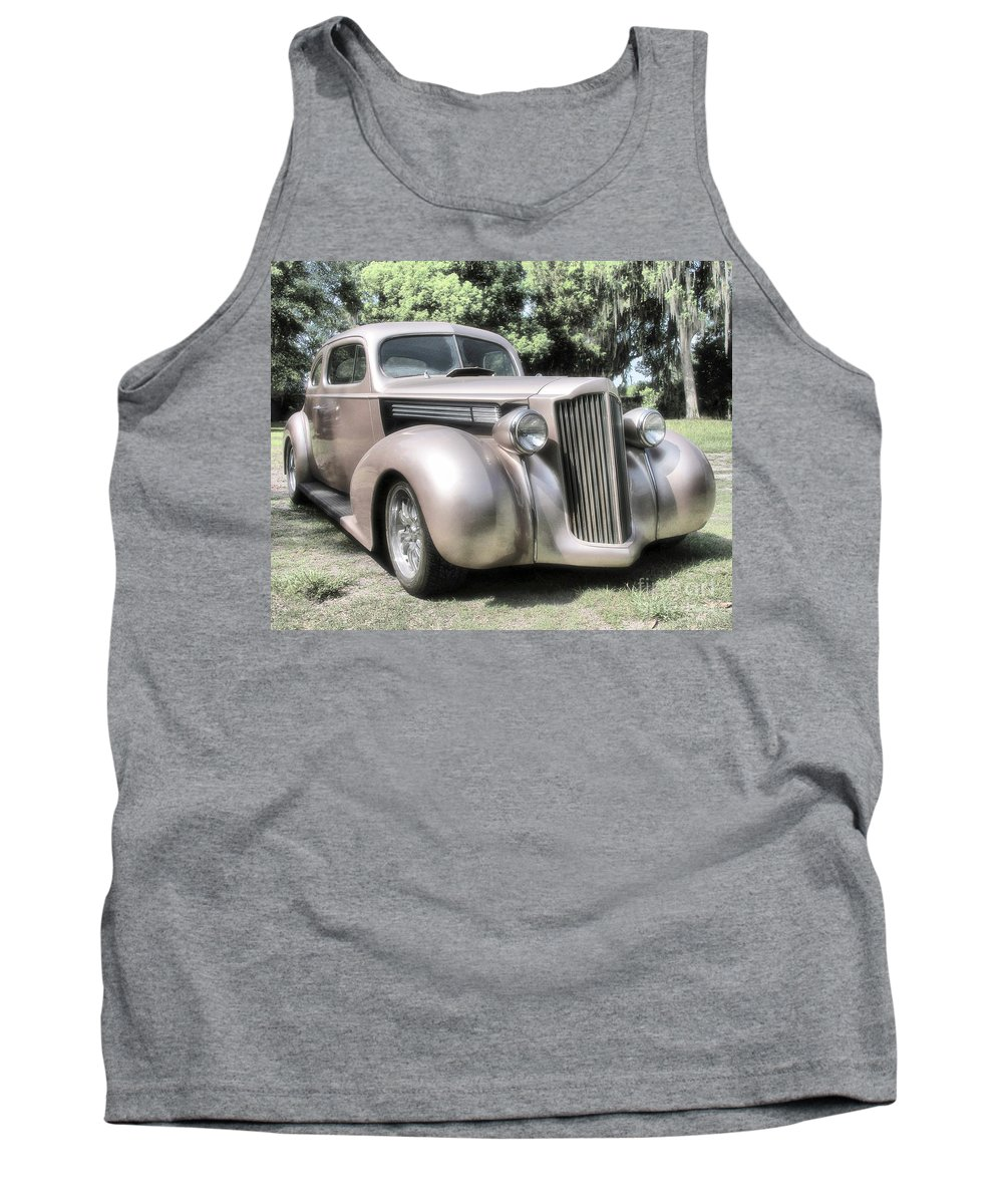 Classic Cars Tank Top featuring the photograph 1939 Packard Coupe by Richard Rizzo