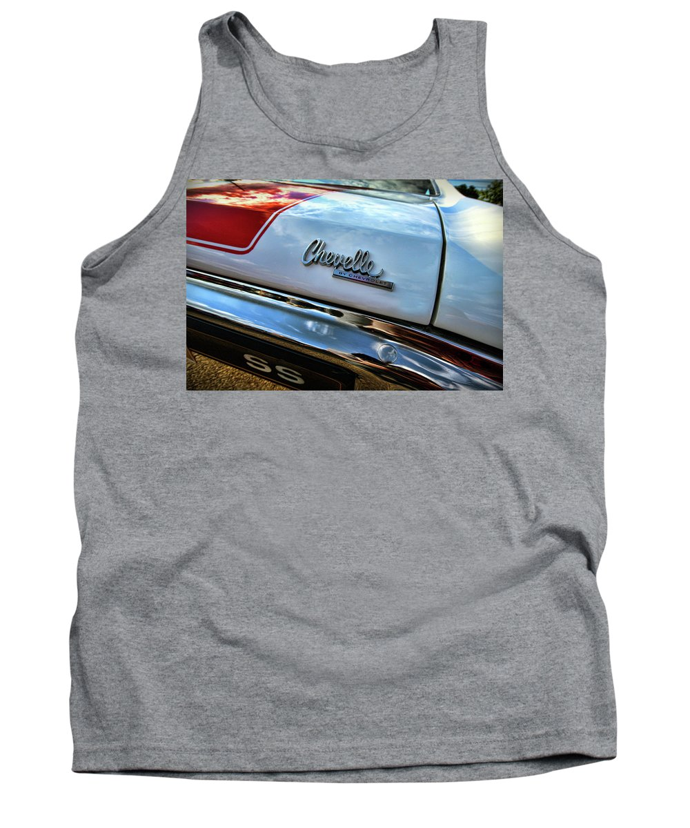 1970 Tank Top featuring the photograph 1970 Chevy Chevelle Ss 396 Ss396 by Gordon Dean II