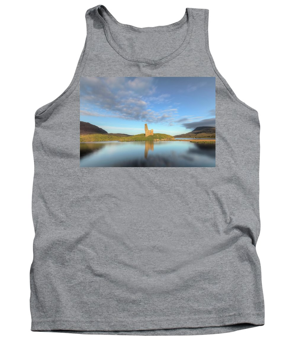 Ardvreck Castle Tank Top featuring the photograph Ardvreck Castle - Scotland by Joana Kruse