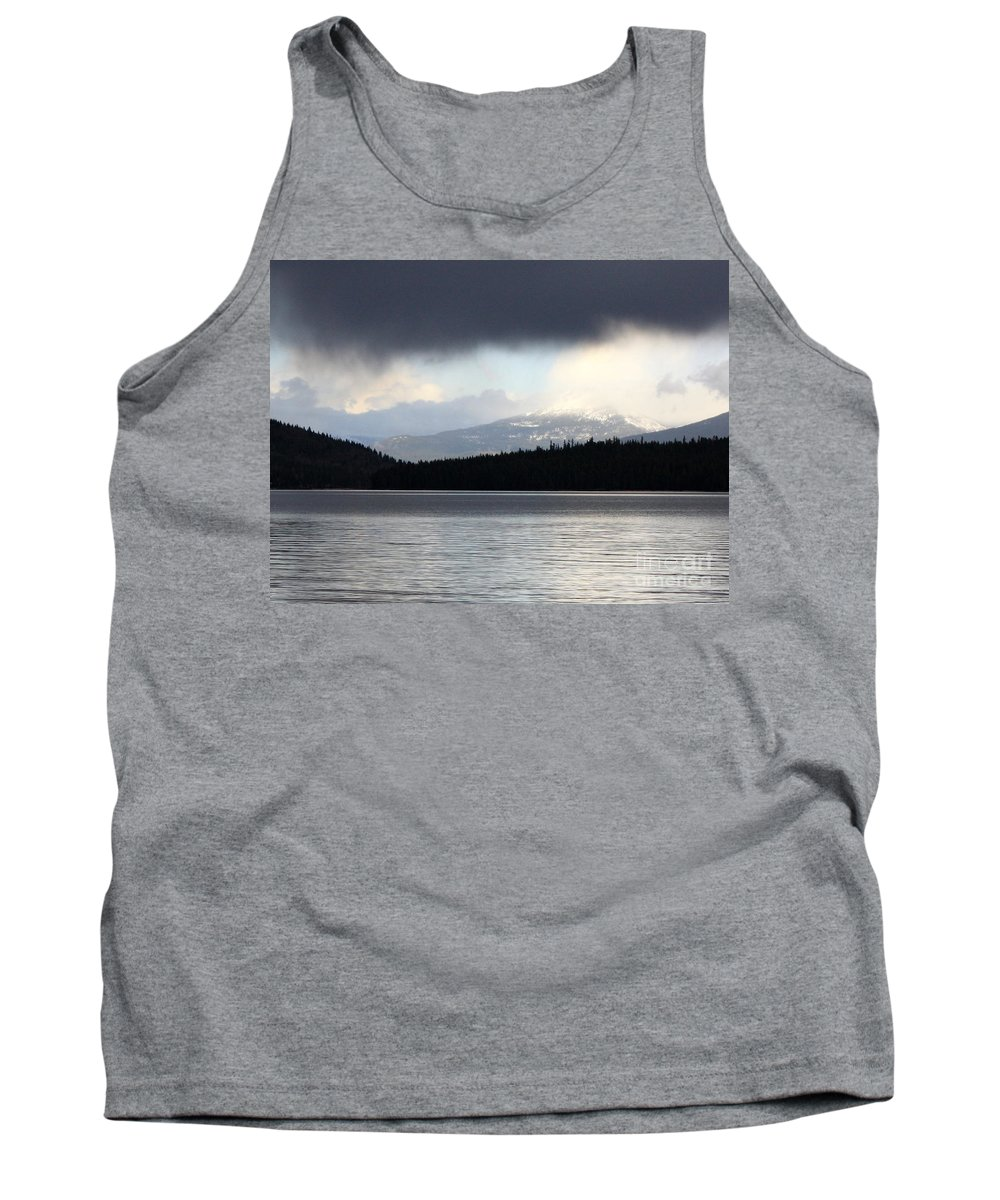 Clouds Tank Top featuring the photograph Balance In Nature by Carol Groenen