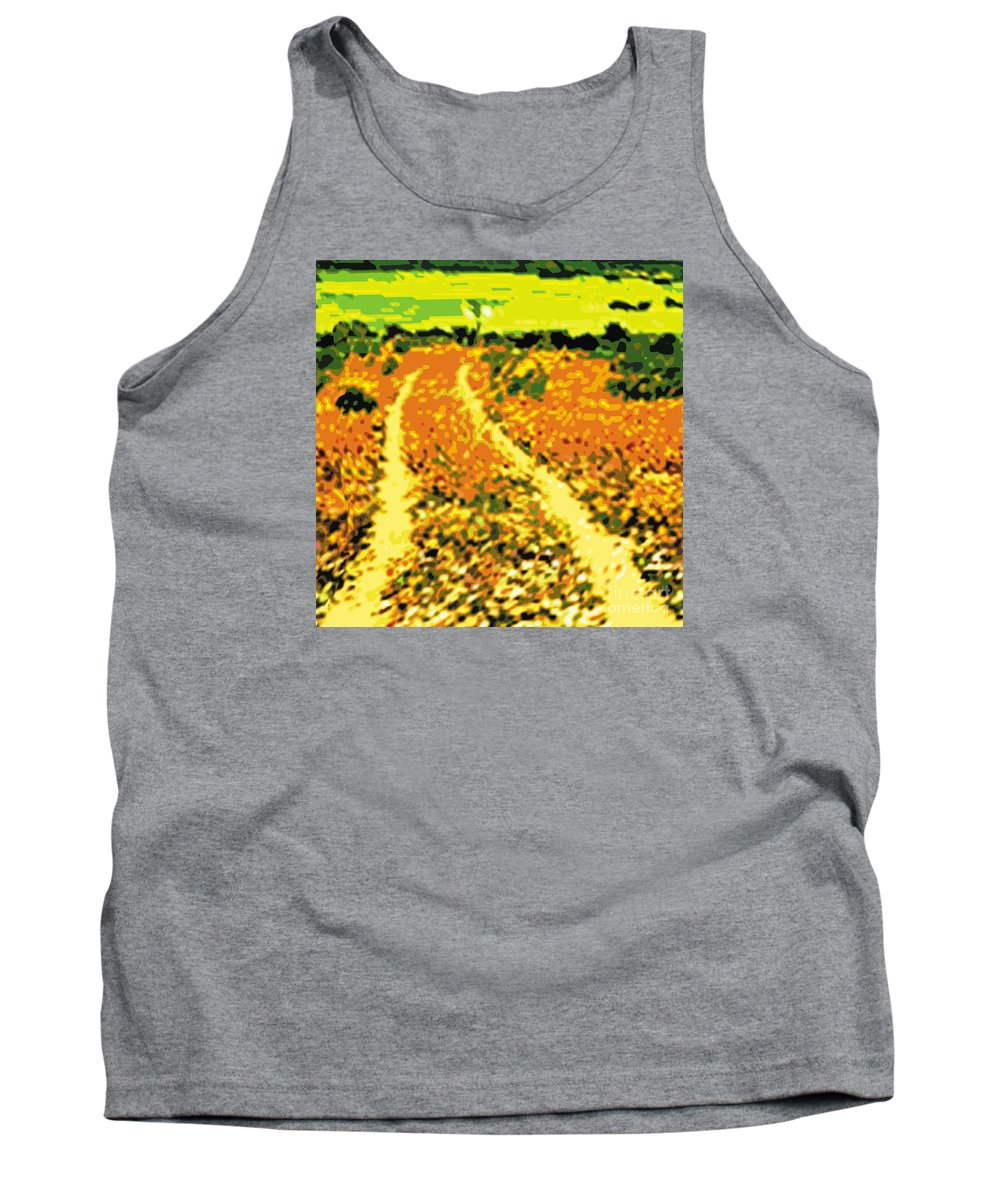 Nature Tank Top featuring the digital art Dr by Caddelle Faulkner