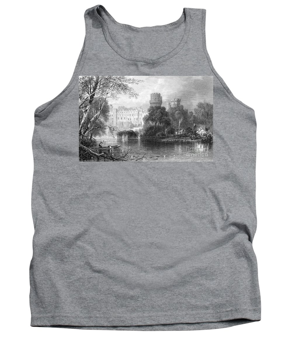 19th Century Tank Top featuring the photograph England: Warwick Castle by Granger