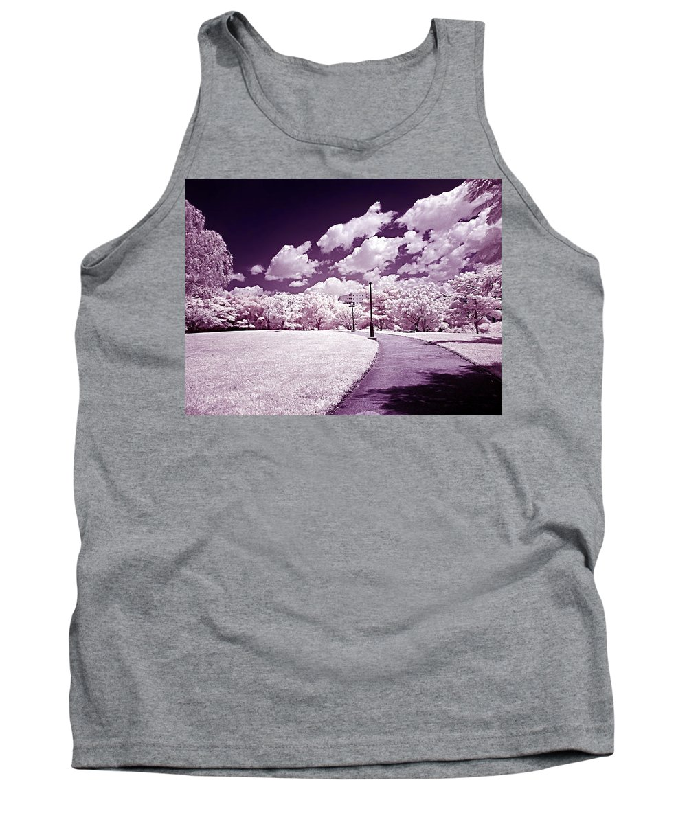 Infrarrojos Tank Top featuring the photograph Infrared Garden by Galeria Trompiz