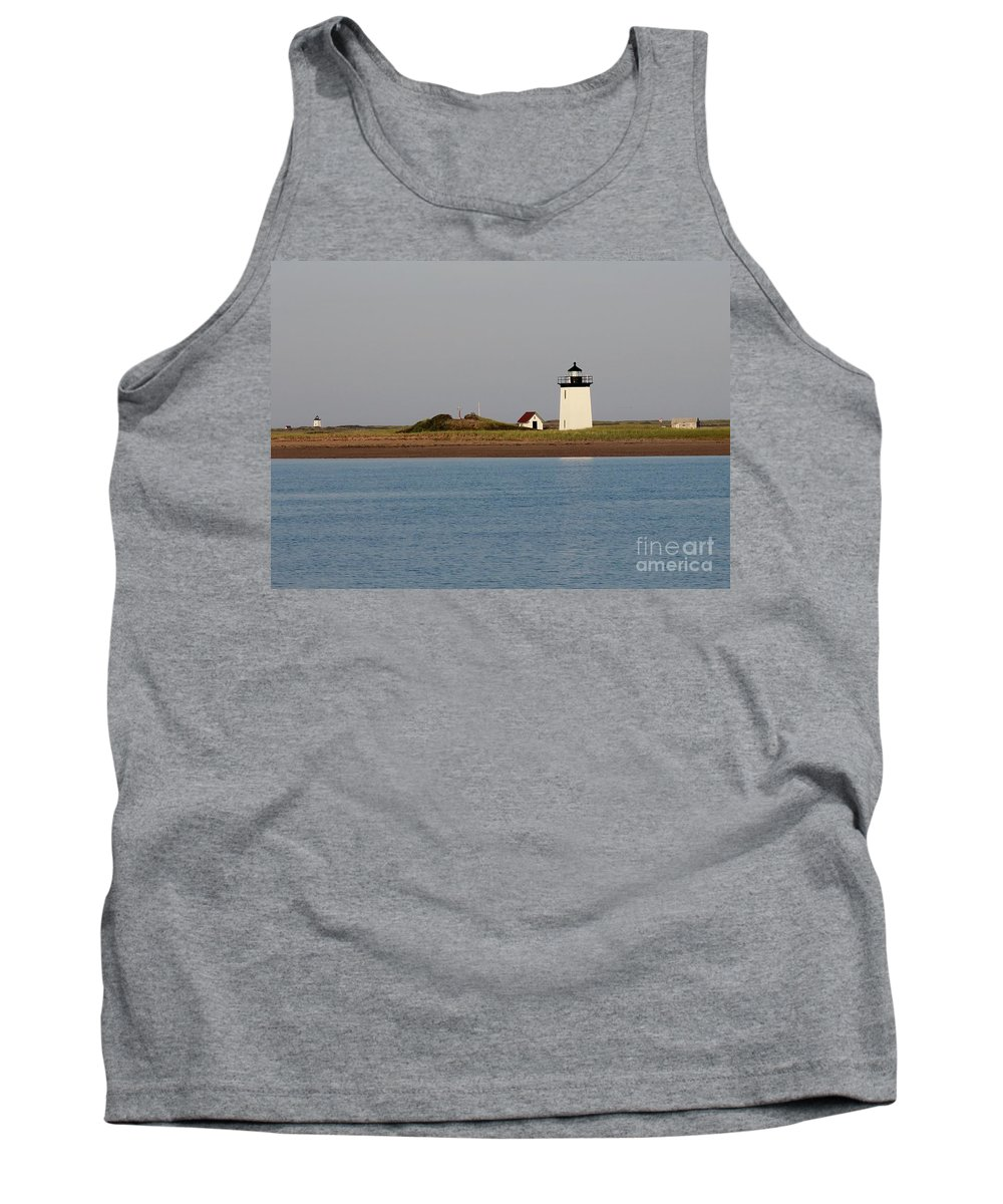 Lighthouse / Provincetown Tank Top featuring the photograph Lighthouse Provincetown by Gregory E Dean