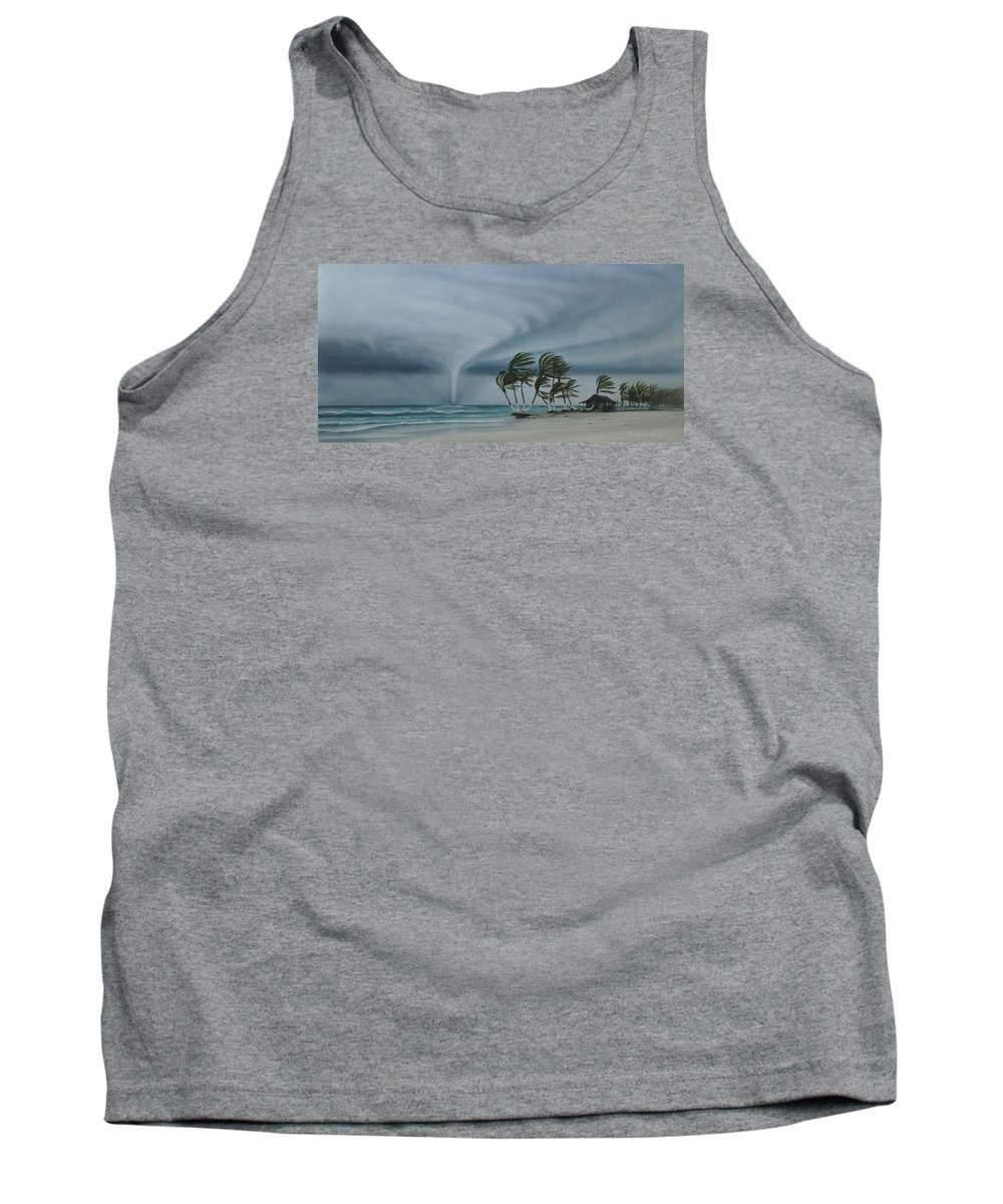 Tank Top featuring the painting Mahahual by Angel Ortiz
