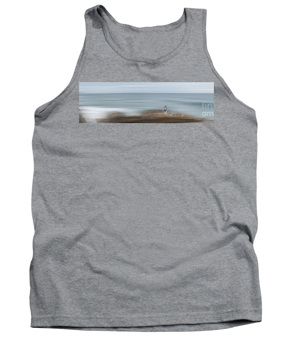 Fishing Tank Top featuring the photograph Sea by Caddelle Faulkner