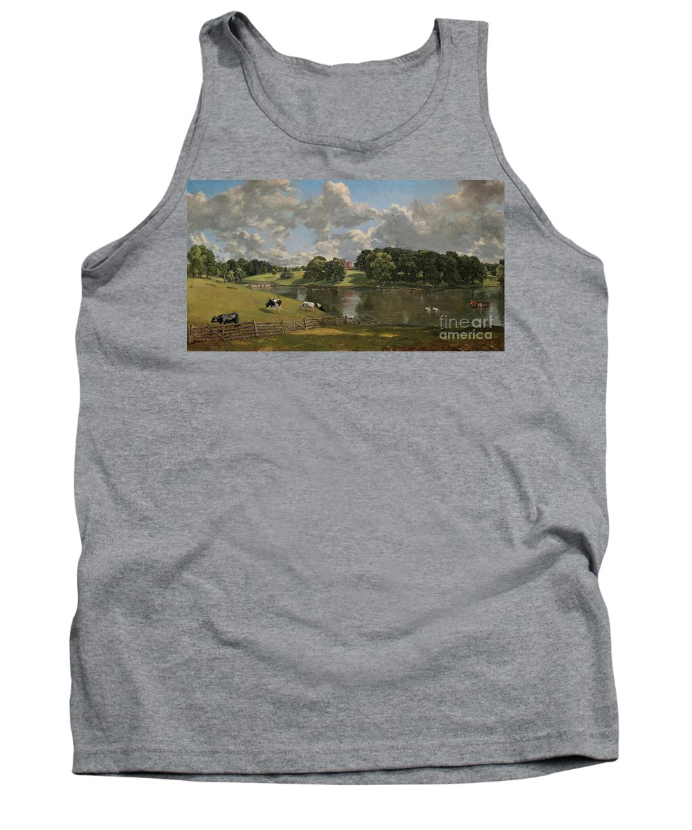 John Constable Tank Top featuring the painting Wivenhoe Park Essex by Celestial Images
