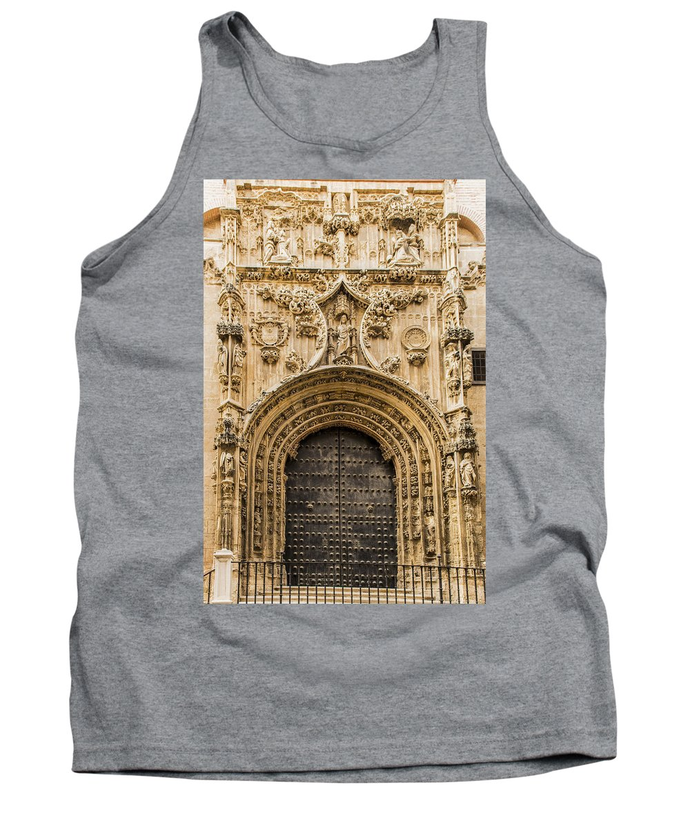Door Tank Top featuring the photograph Doors by Jon Berghoff