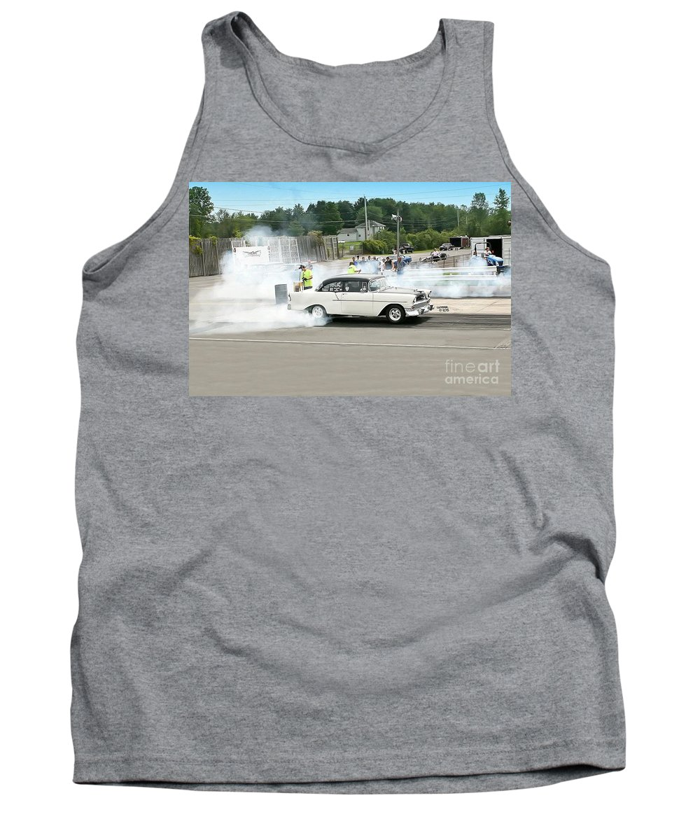 08-18-2013 Tank Top featuring the photograph 2001 08-18-2013 Esta Safety Park by Vicki Hopper