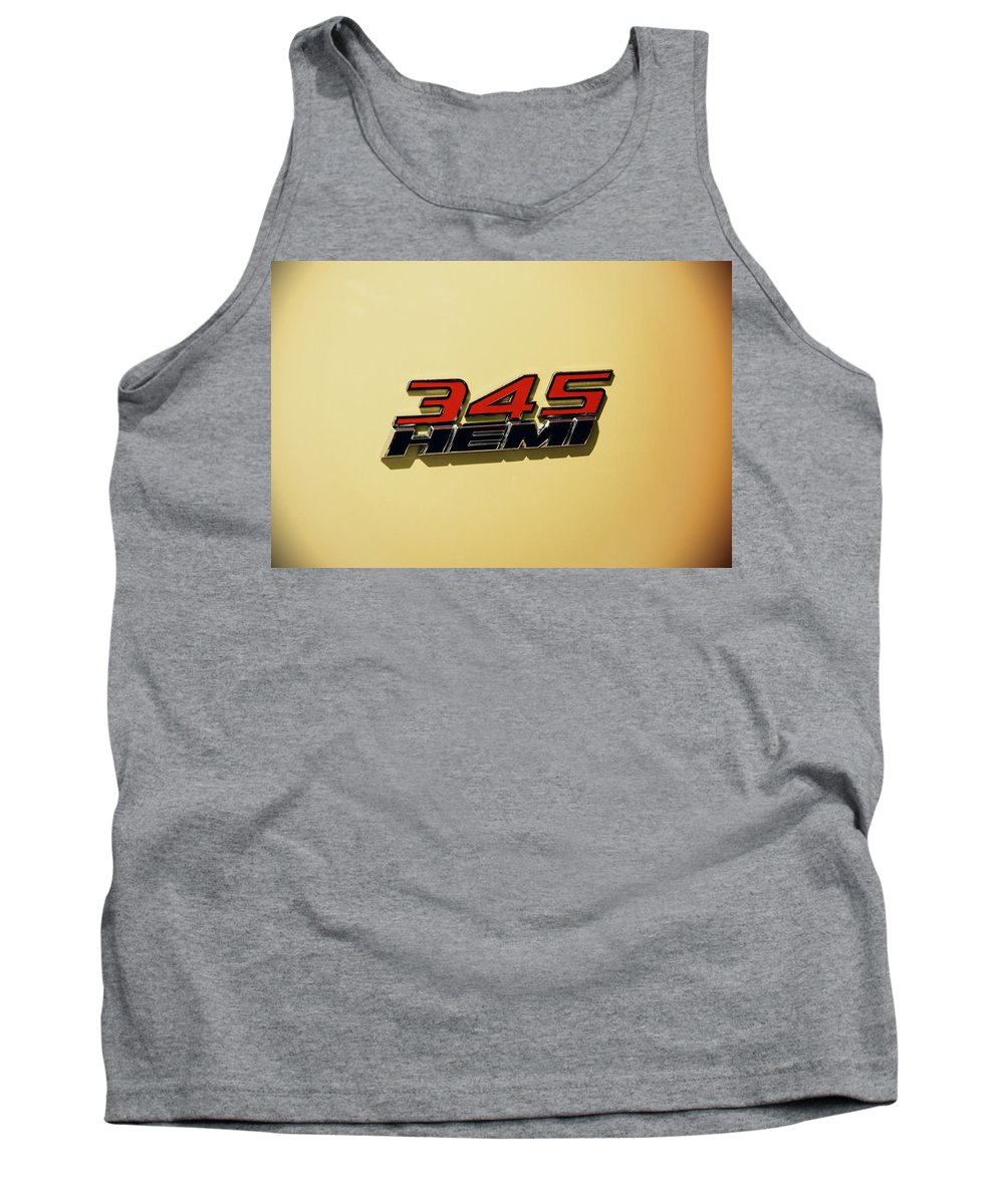2015 Tank Top featuring the photograph 2015 Dodge Challenger by Nick Gray