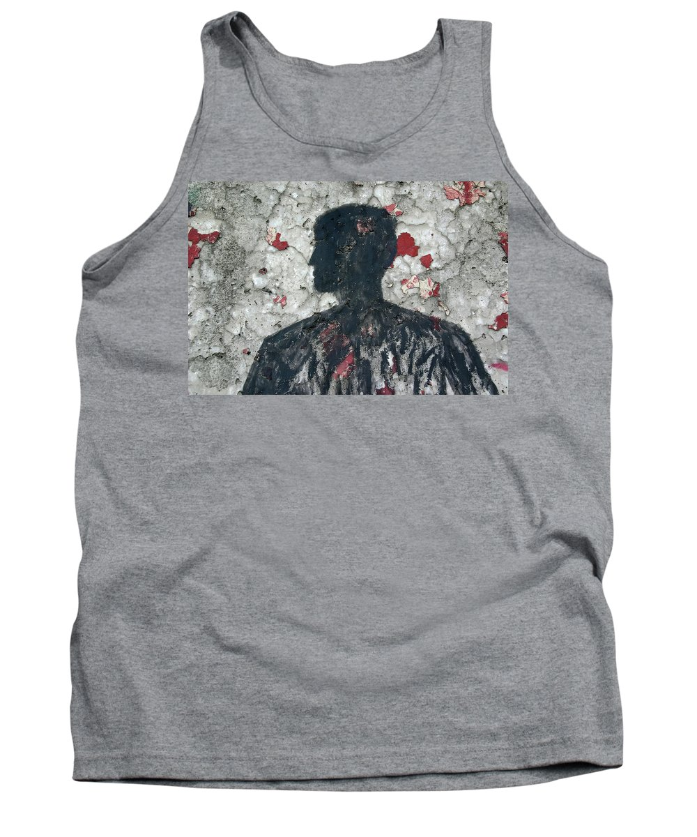 Berlin Tank Top featuring the photograph Berlin Wall Mural by KG Thienemann