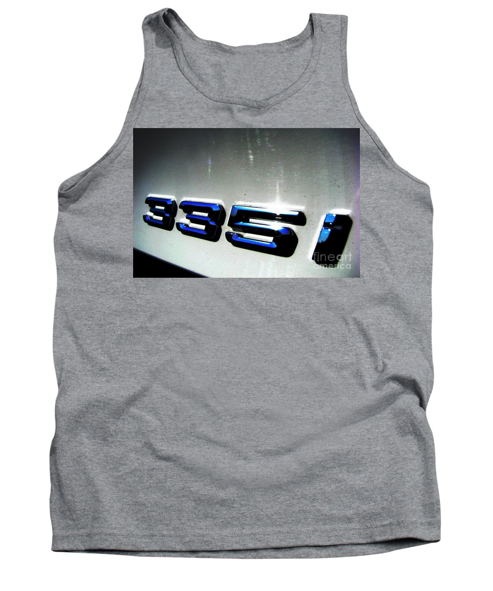 335i Tank Top featuring the photograph 335i by Amanda Barcon
