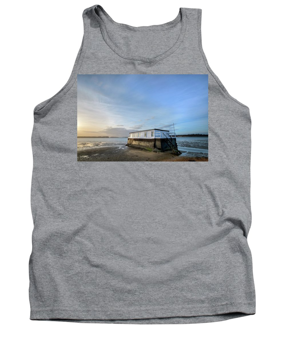 House Boat Tank Top featuring the photograph Studland - England by Joana Kruse