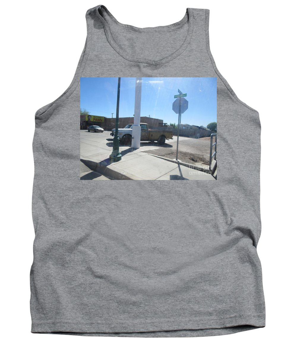 Antique Tank Top featuring the photograph Antique Chevrolet Truck by Frederick Holiday