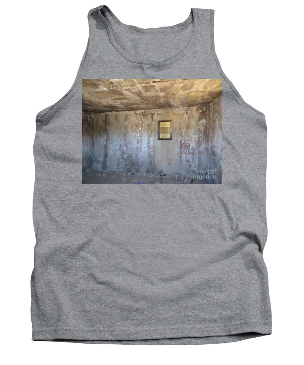 Show Low Tank Top featuring the photograph Show Low Jail by Frederick Holiday