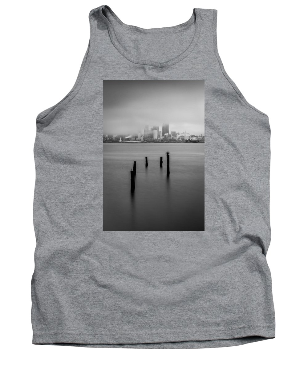 Seattle Tank Top featuring the photograph Seattle by Jon Reiswig