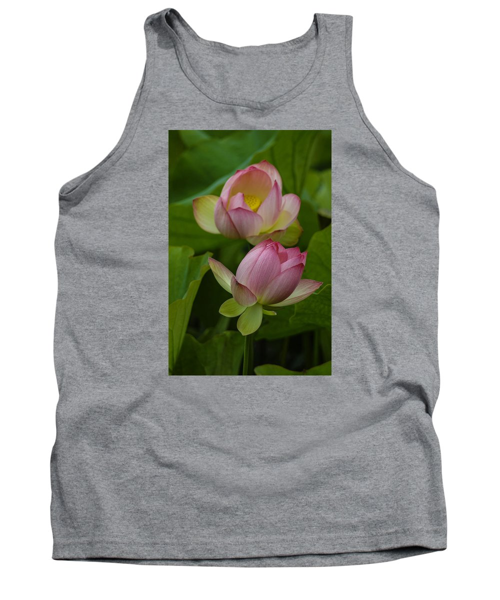 Lotus. Flower Tank Top featuring the photograph 66 by Garth Pillsbury