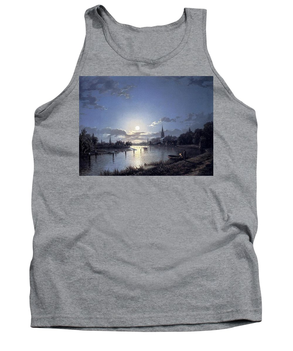 Basin Tank Top featuring the digital art 31040 Henry Pether by Eloisa Mannion