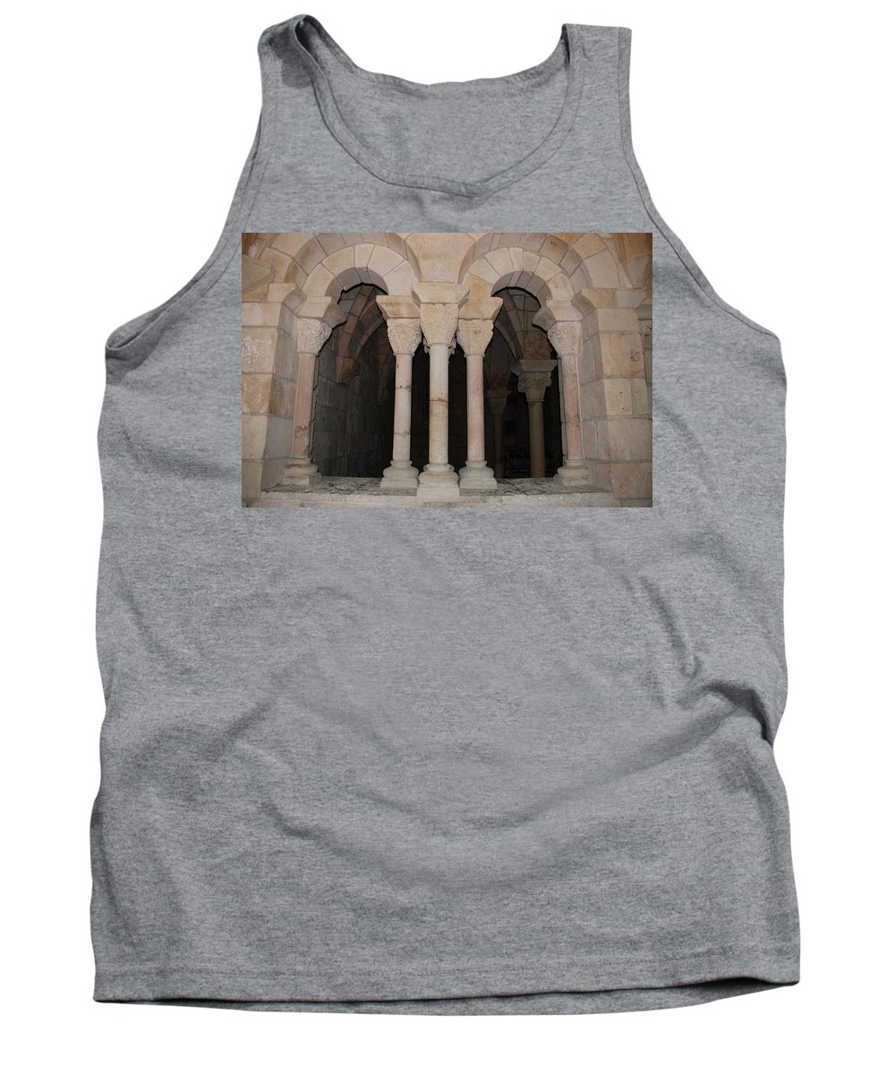 Arches Tank Top featuring the photograph Miami Monastery by Rob Hans