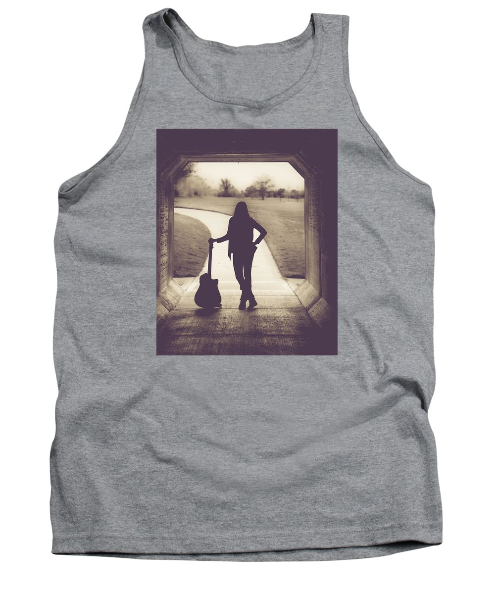 Musician Tank Top featuring the photograph 9557.2 by Teresa Blanton