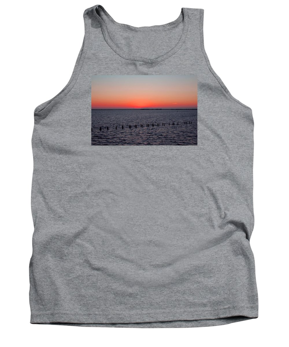 Sunset Tank Top featuring the photograph A Beautiful Heist by Michiale Schneider