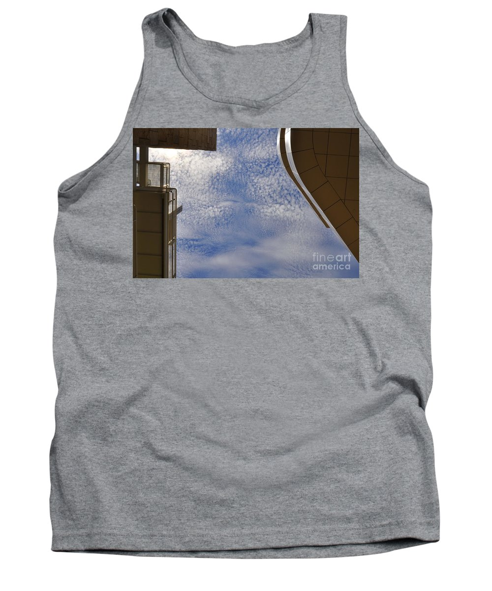 Clay Tank Top featuring the photograph A Day At The Getty by Clayton Bruster
