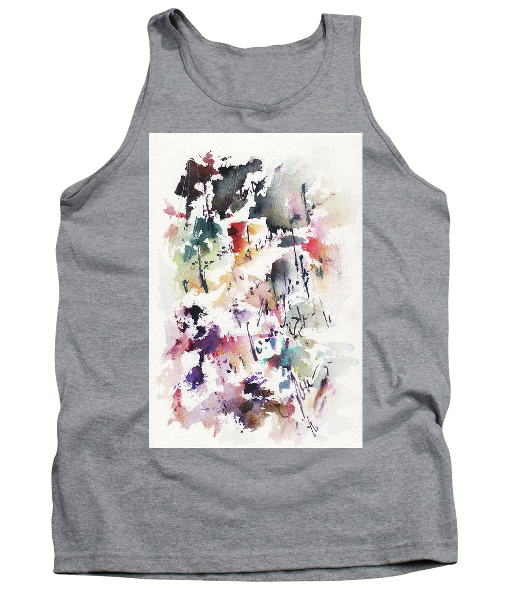 Love Tank Top featuring the painting A Love Letter by Rachel Christine Nowicki