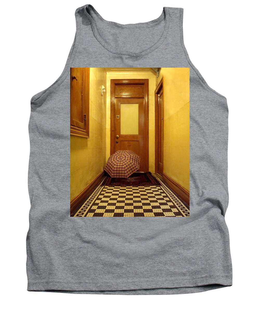 Wood Tank Top featuring the photograph A Rainy Day In Astoria by Joseph Mari